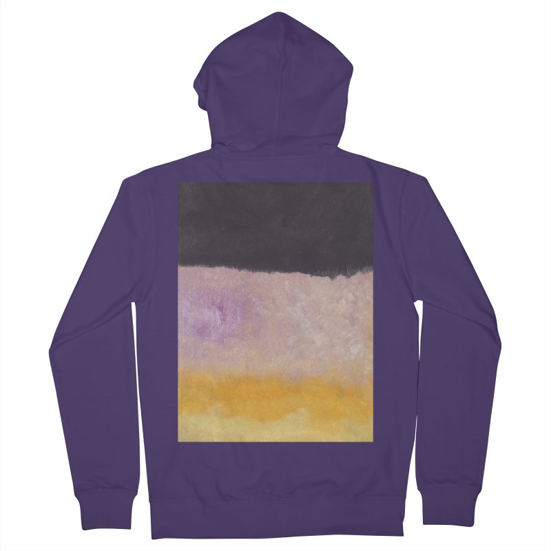 Landscape #8 Women's French Terry Zip-Up Hoody by duocuspdesign Artist Shop