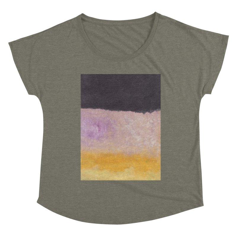 Landscape #8 Women's Dolman Scoop Neck by duocuspdesign Artist Shop