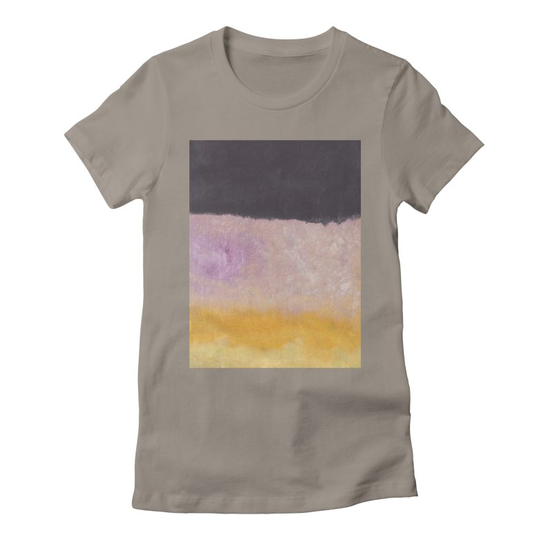 Landscape #8 Women's Fitted T-Shirt by duocuspdesign Artist Shop