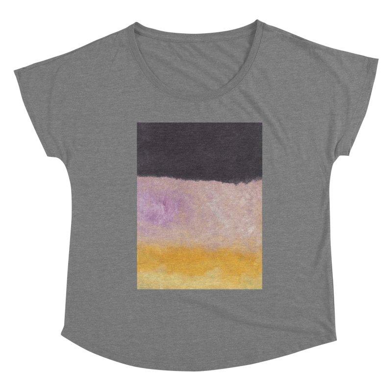 Landscape #8 Women's Scoop Neck by duocuspdesign Artist Shop