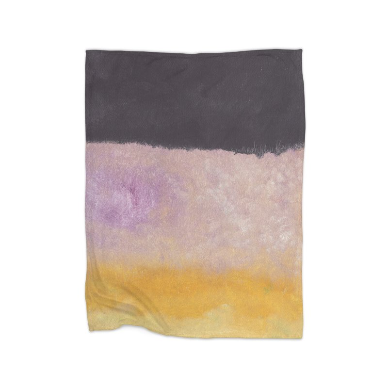 Landscape #8 Home Fleece Blanket Blanket by duocuspdesign Artist Shop