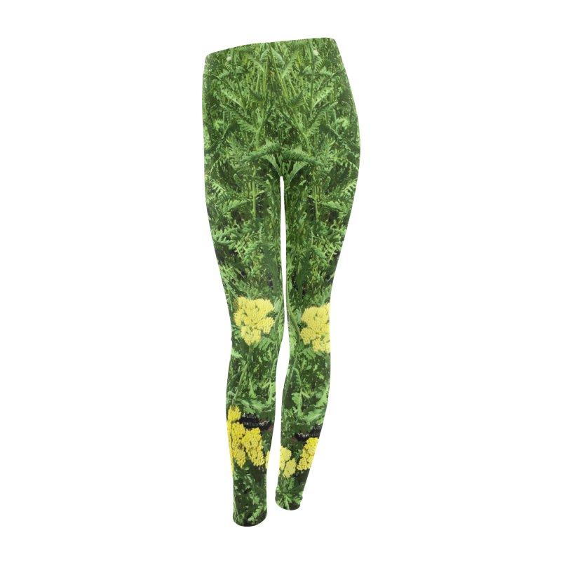 Botanical Garden #2 Women's Leggings Bottoms by duocuspdesign Artist Shop