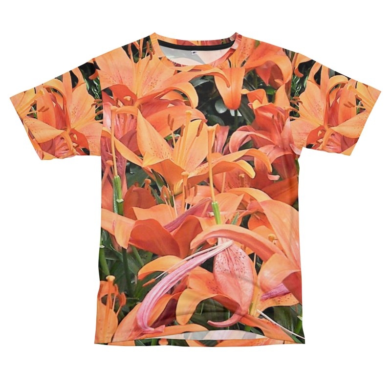 Orange Lilies Men's Cut & Sew by duocuspdesign Artist Shop
