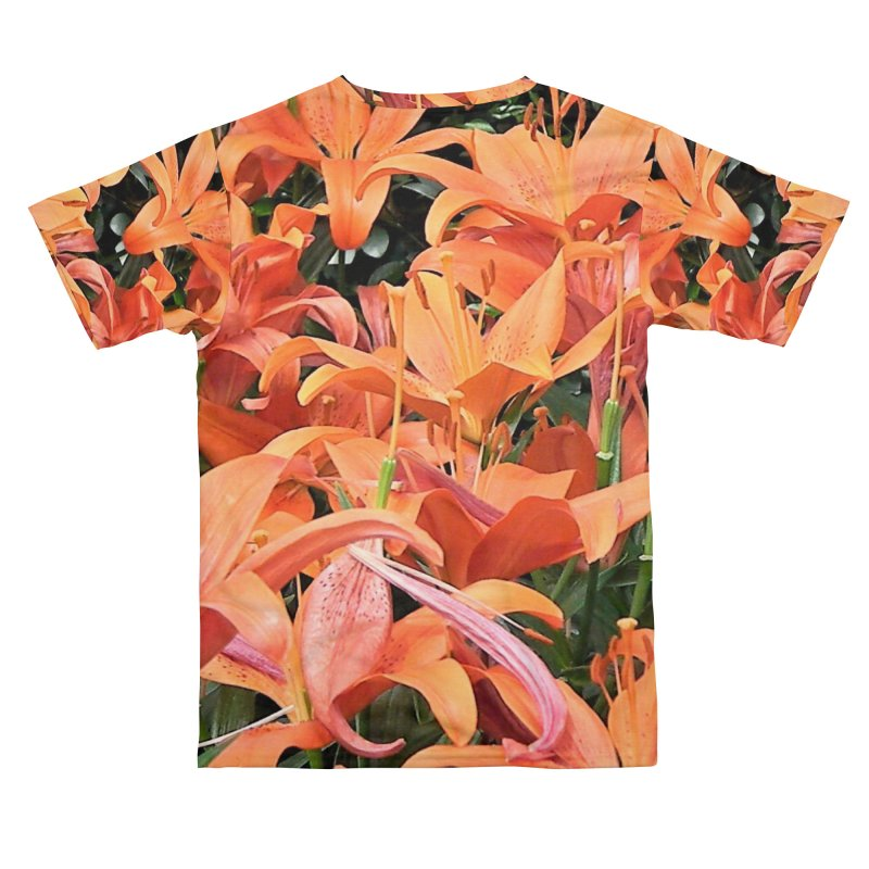 Orange Lilies Women's Cut & Sew by duocuspdesign Artist Shop