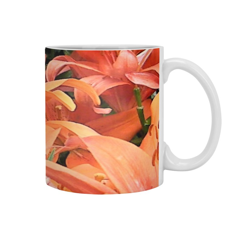 Orange Lilies Accessories Mug by duocuspdesign Artist Shop