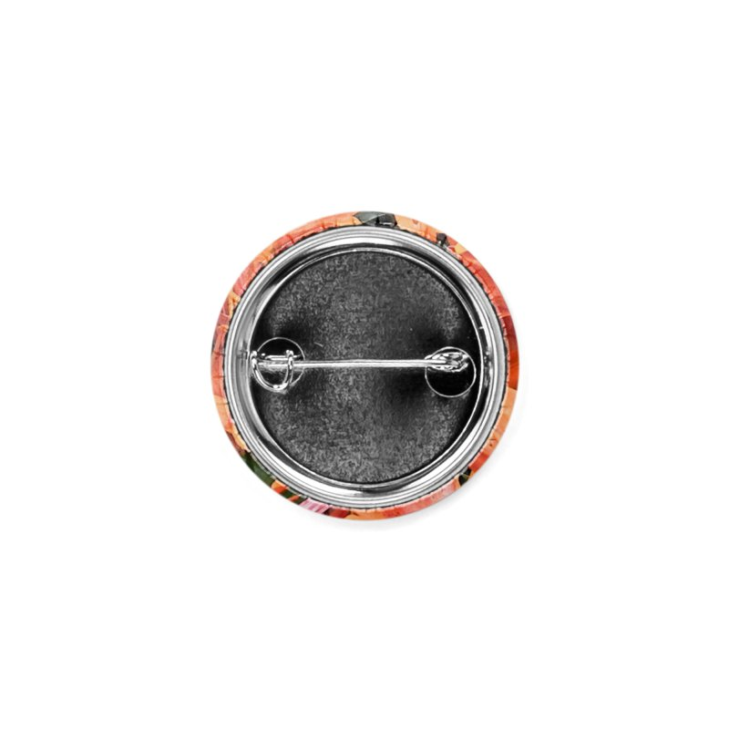 Orange Lilies Accessories Button by duocuspdesign Artist Shop