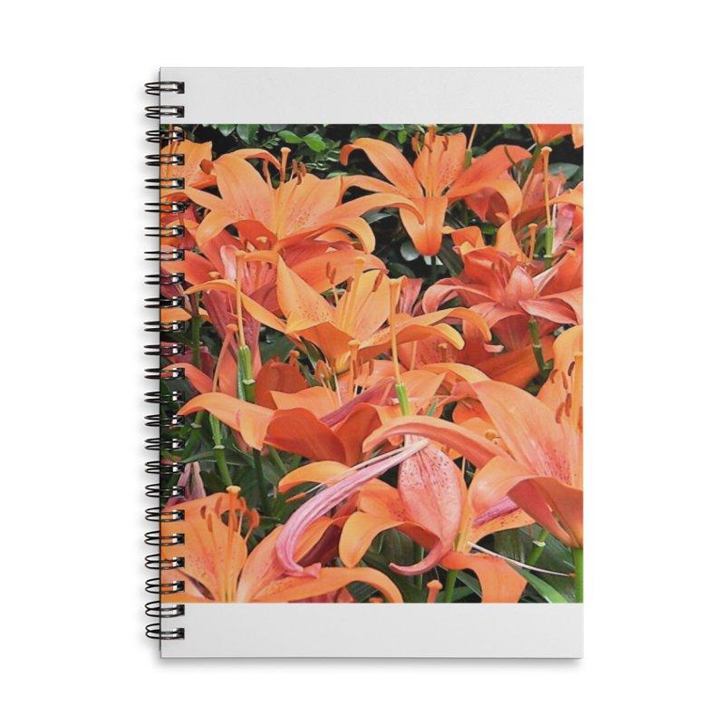 Orange Lilies Accessories Notebook by duocuspdesign Artist Shop