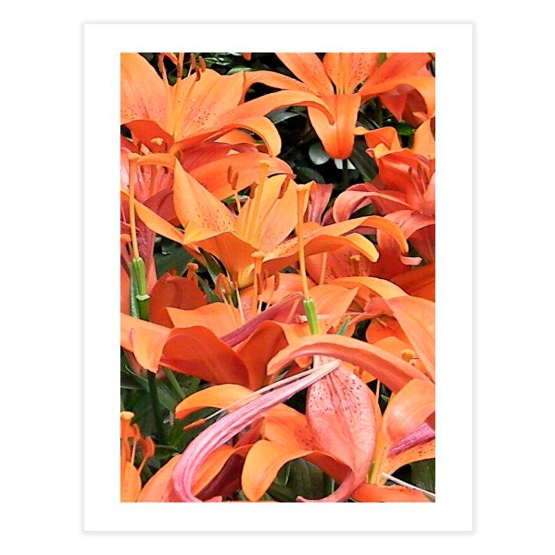 Orange Lilies Home Fine Art Print by duocuspdesign Artist Shop