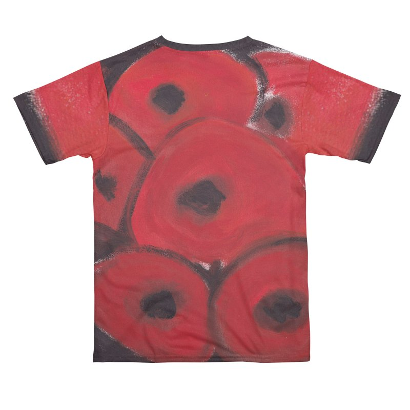 Stylized Poppies Women's Cut & Sew by duocuspdesign Artist Shop
