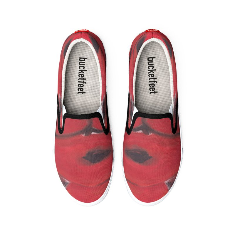 Stylized Poppies Women's Shoes by duocuspdesign Artist Shop