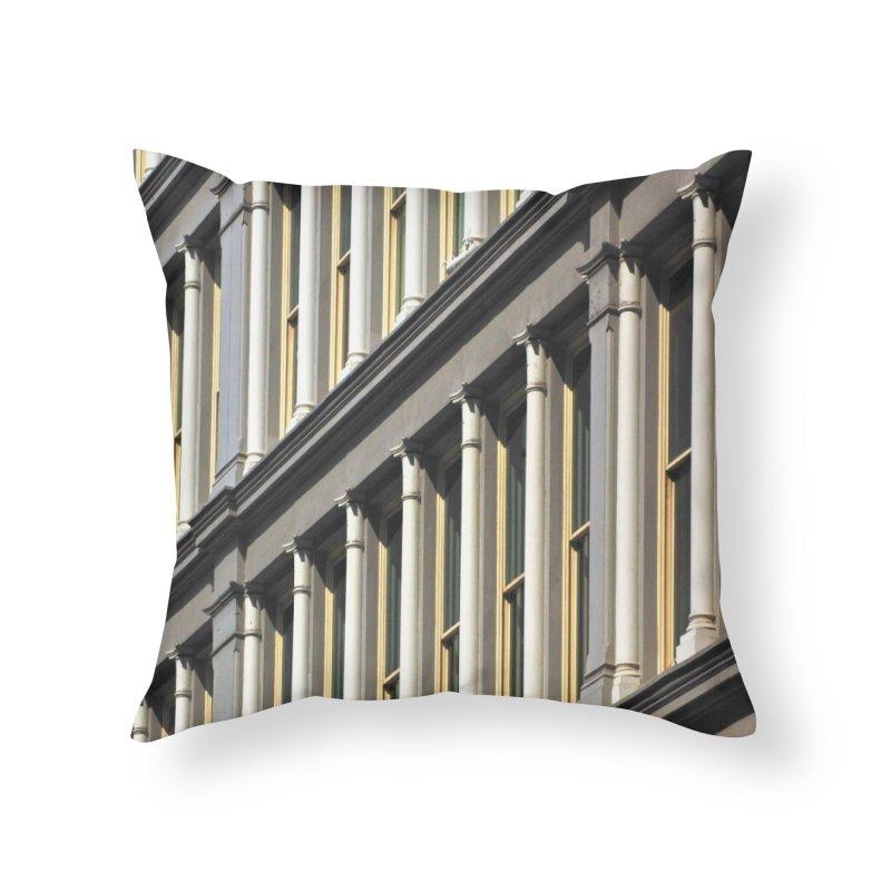 Soho Home Throw Pillow by duocuspdesign Artist Shop