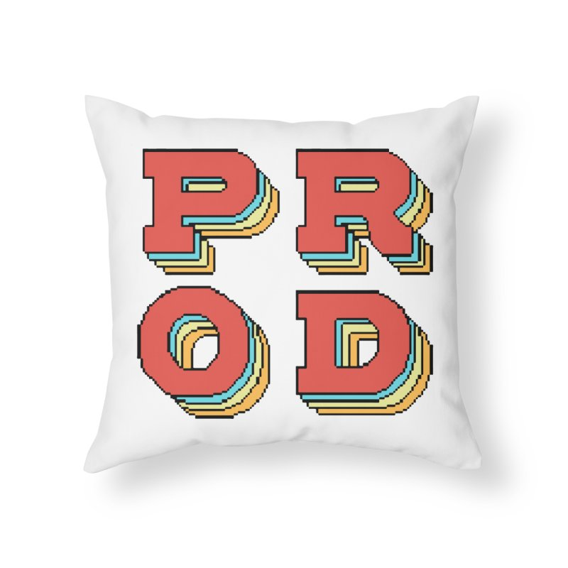 PROD Show logo Home Throw Pillow by FinalRender Shop
