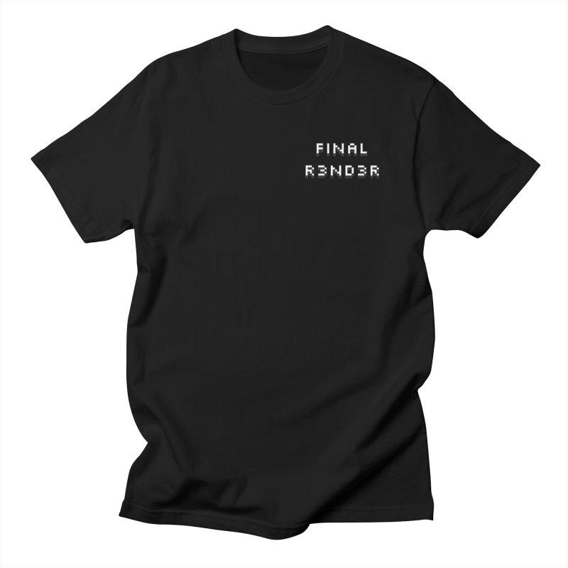 FINAL R3ND3R small logo Women's T-Shirt by FinalRender Shop