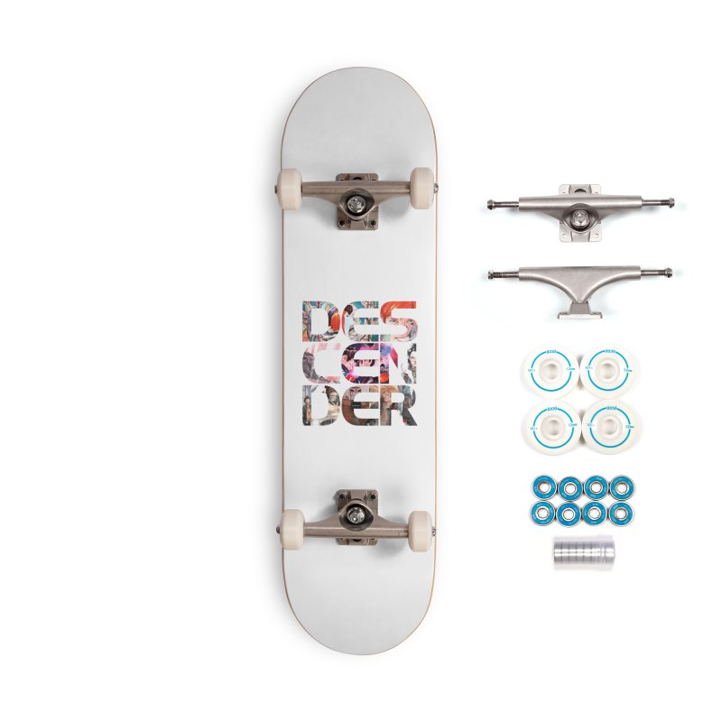 DESCENDER Accessories Complete - Basic Skateboard by Dustin Nguyen's Artist Shop