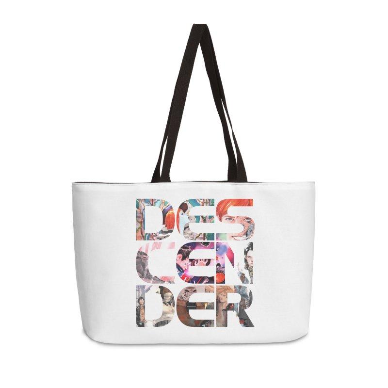 DESCENDER Accessories Weekender Bag Bag by Dustin Nguyen's Artist Shop