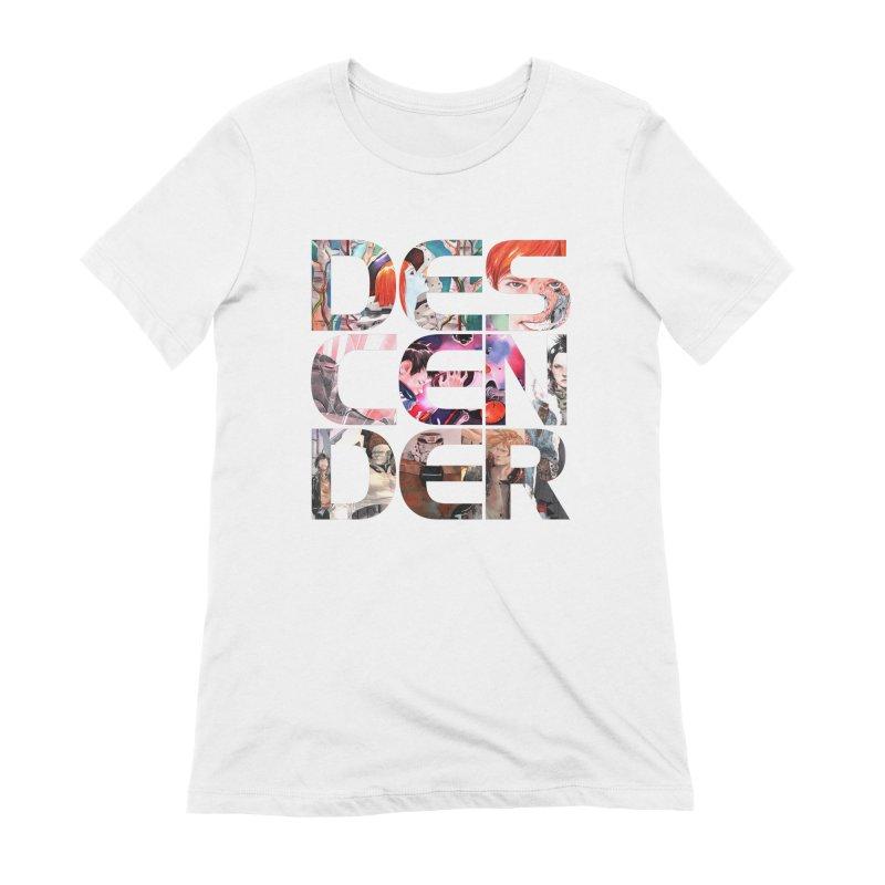 DESCENDER Women's Extra Soft T-Shirt by Dustin Nguyen's Artist Shop