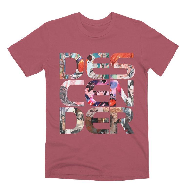 DESCENDER Men's Premium T-Shirt by Dustin Nguyen's Artist Shop