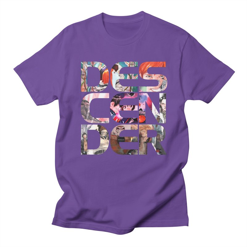 DESCENDER Women's Regular Unisex T-Shirt by Dustin Nguyen's Artist Shop