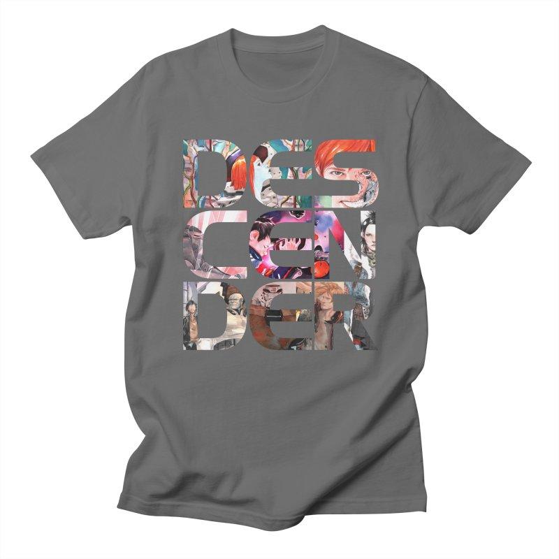 DESCENDER Men's T-Shirt by Dustin Nguyen's Artist Shop