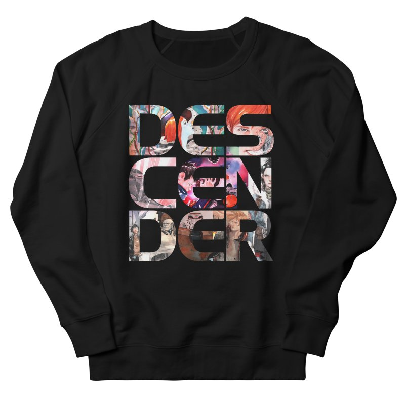 DESCENDER Men's French Terry Sweatshirt by Dustin Nguyen's Artist Shop