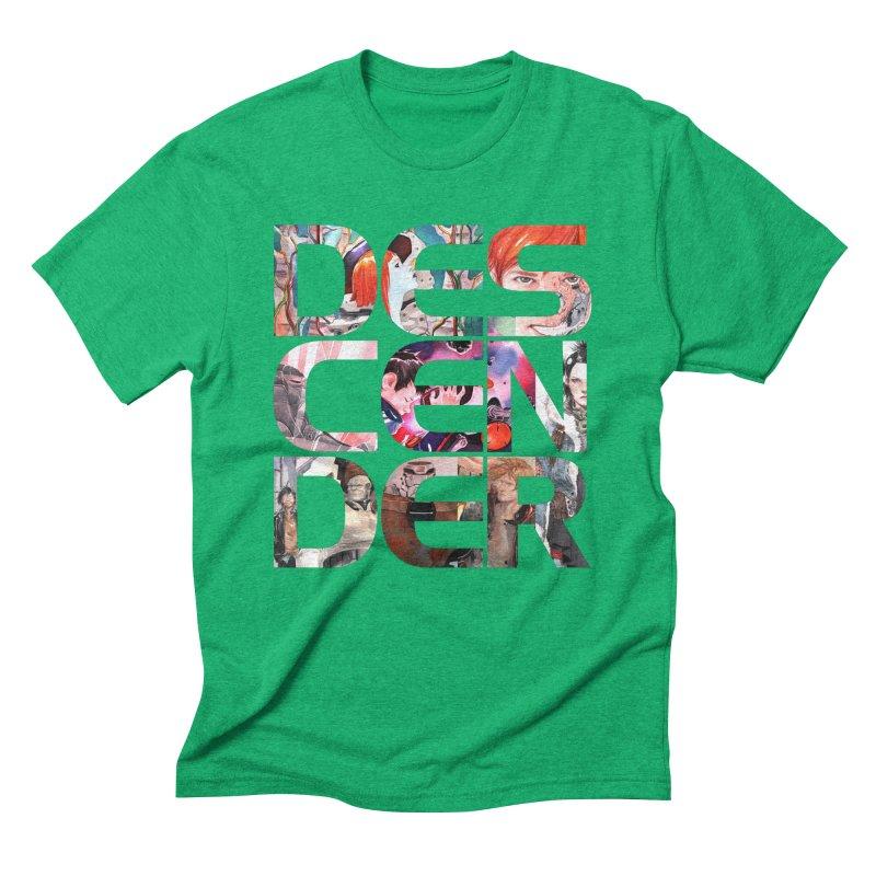 DESCENDER Men's Triblend T-Shirt by Dustin Nguyen's Artist Shop