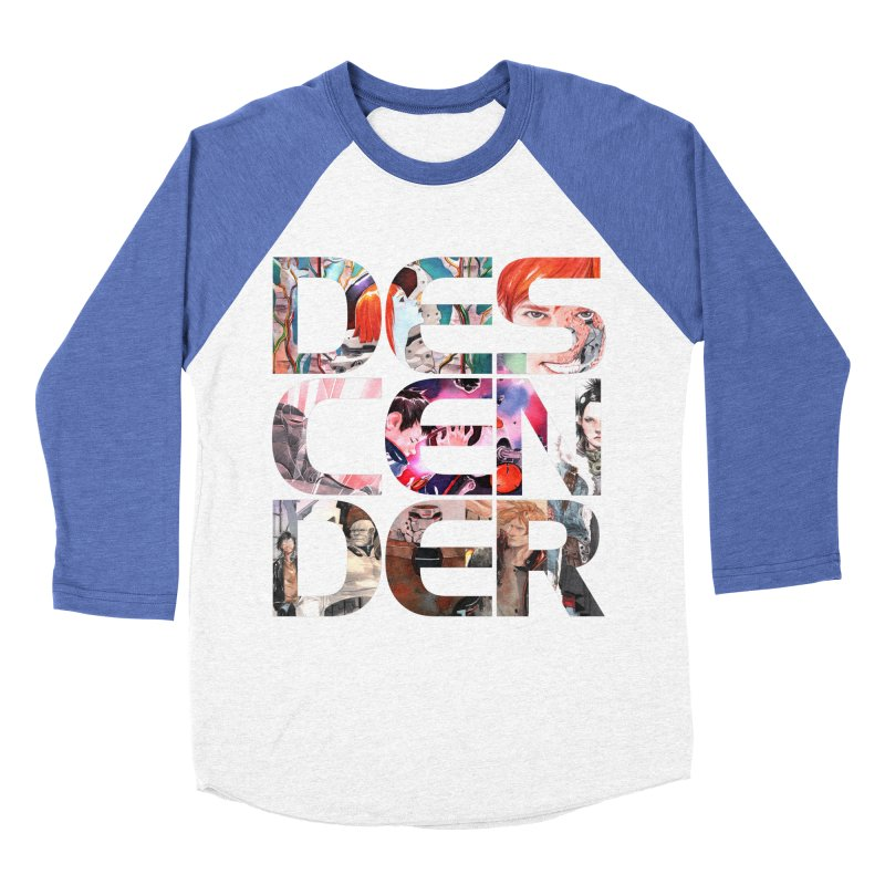 DESCENDER Men's Baseball Triblend Longsleeve T-Shirt by Dustin Nguyen's Artist Shop
