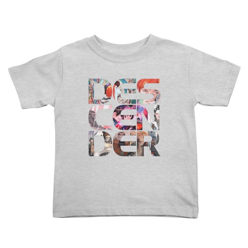 DESCENDER Kids Toddler T-Shirt by Dustin Nguyen's Artist Shop