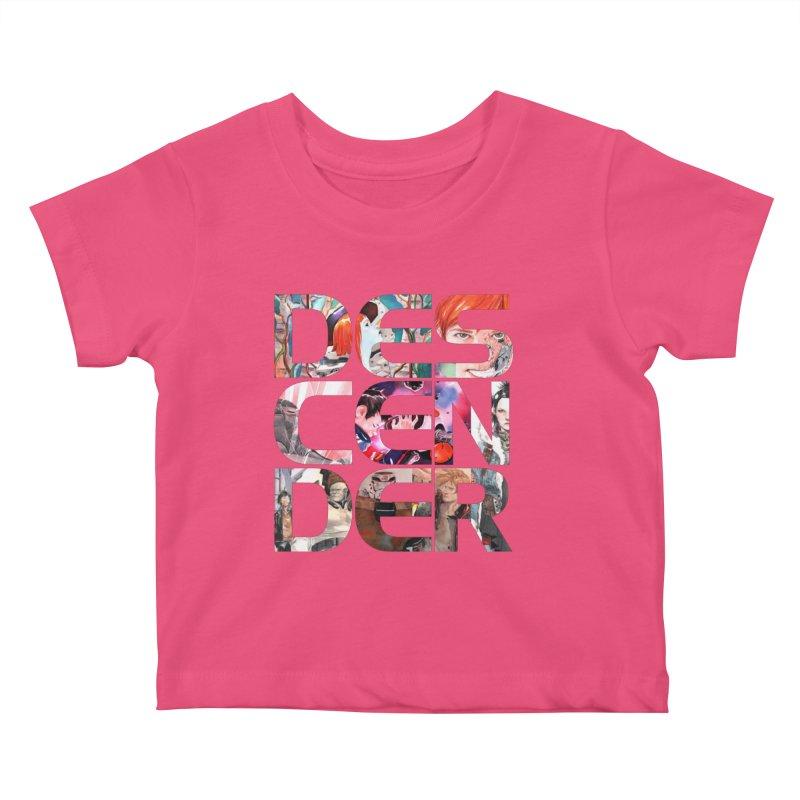 DESCENDER Kids Baby T-Shirt by Dustin Nguyen's Artist Shop