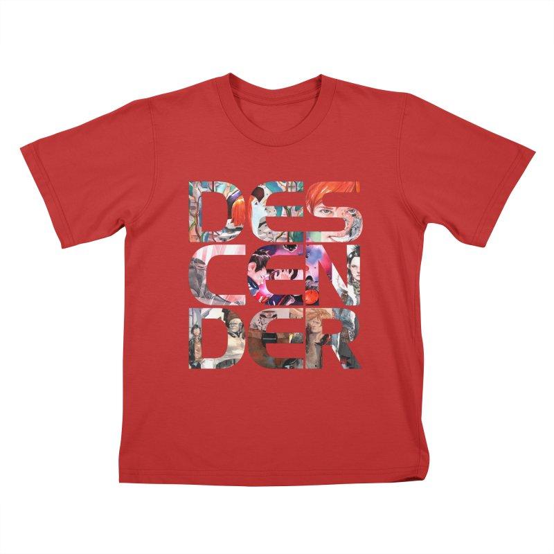 DESCENDER Kids T-Shirt by Dustin Nguyen's Artist Shop