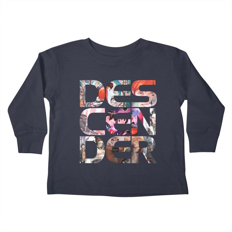 DESCENDER Kids Toddler Longsleeve T-Shirt by Dustin Nguyen's Artist Shop