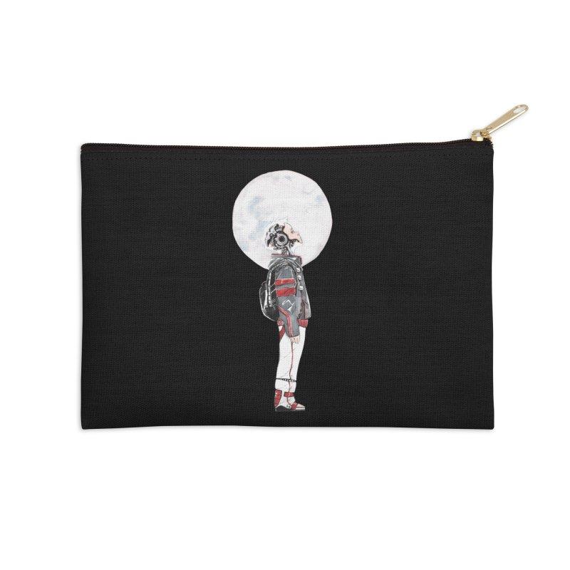 Descender 1 Accessories Zip Pouch by Dustin Nguyen's Artist Shop