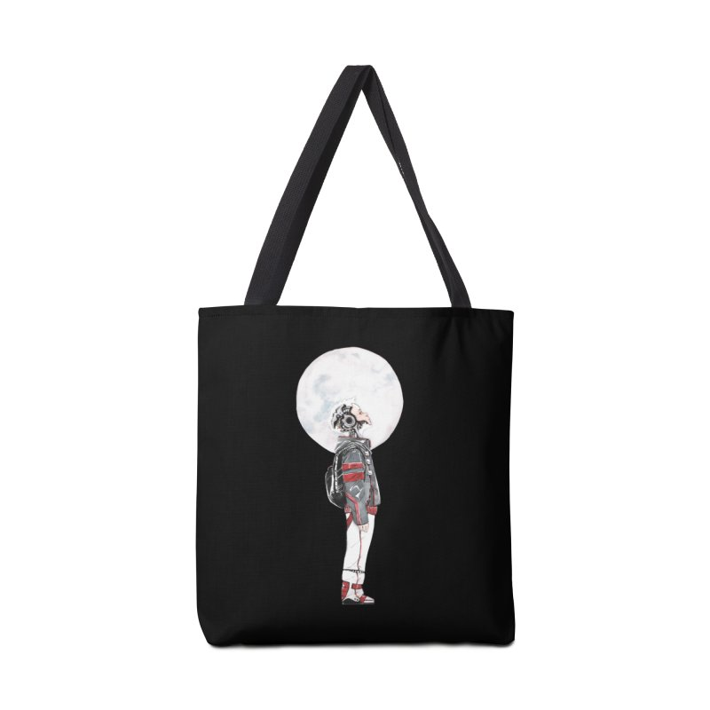 Descender 1 Accessories Bag by Dustin Nguyen's Artist Shop