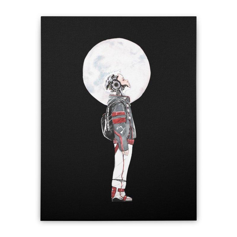 Descender Home Stretched Canvas by Dustin Nguyen's Artist Shop
