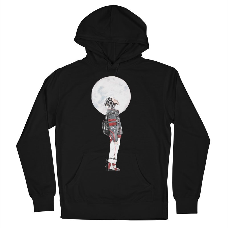 Descender Women's French Terry Pullover Hoody by Dustin Nguyen's Artist Shop