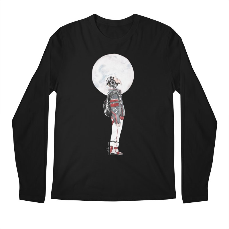 Descender 1 Men's Regular Longsleeve T-Shirt by Dustin Nguyen's Artist Shop