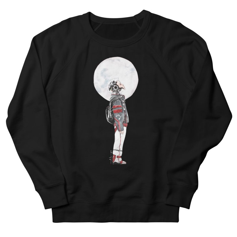Descender Men's French Terry Sweatshirt by Dustin Nguyen's Artist Shop