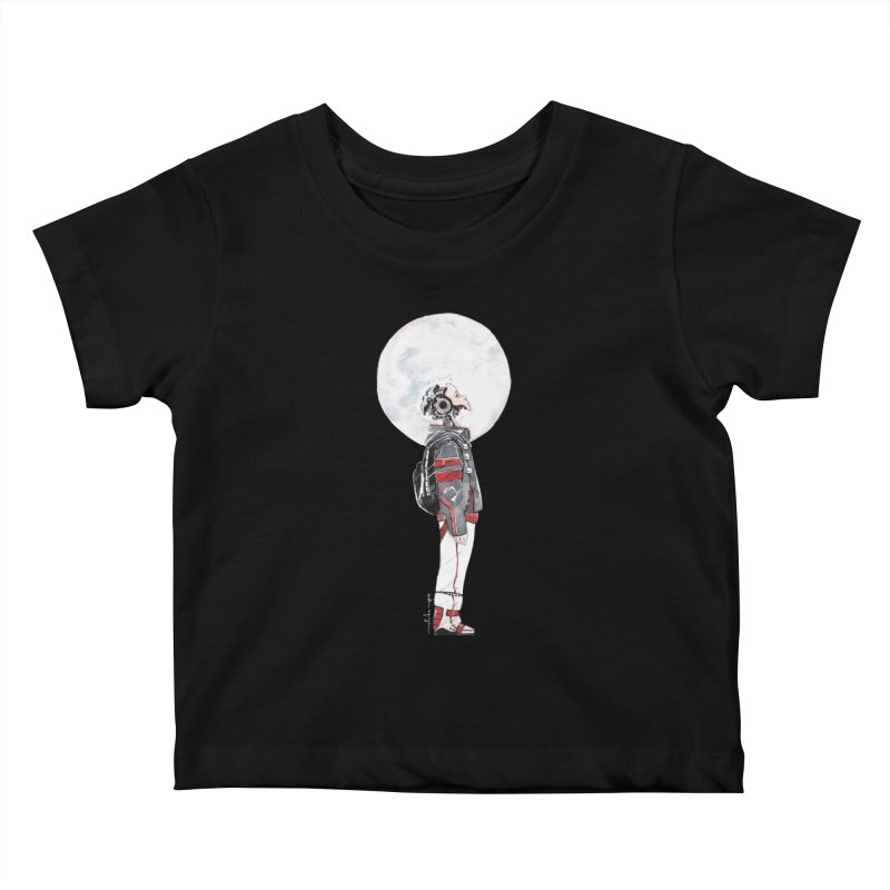 Descender 1 Kids Baby T-Shirt by Dustin Nguyen's Artist Shop