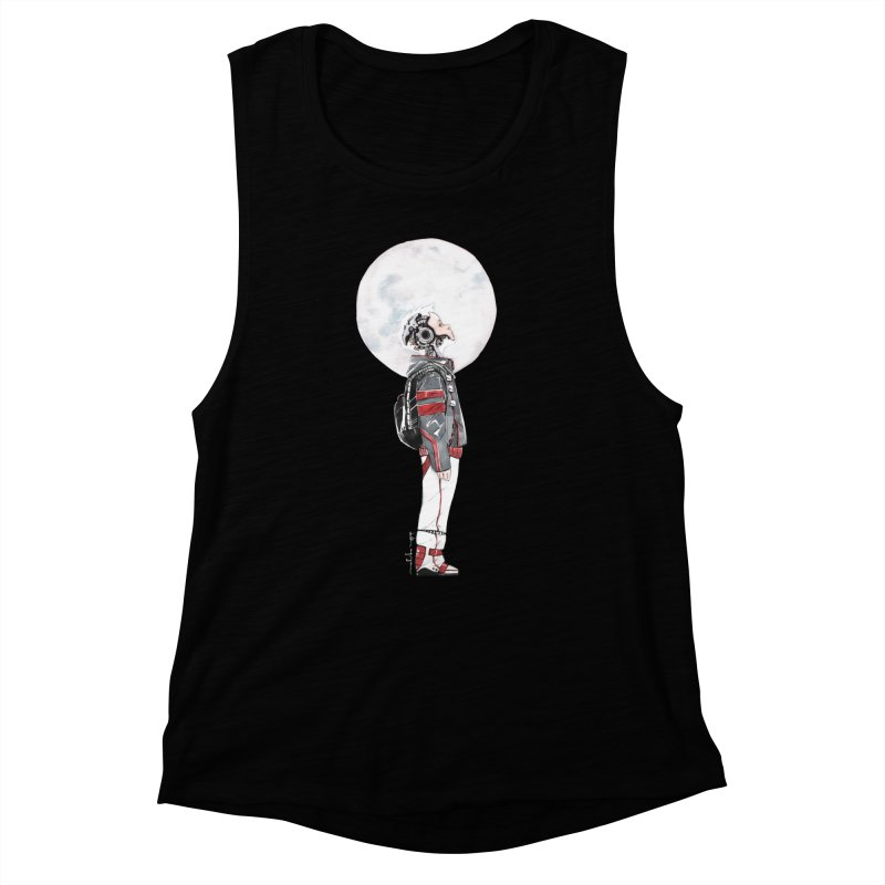 Descender Women's Muscle Tank by Dustin Nguyen's Artist Shop