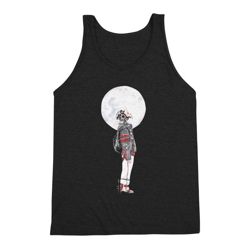 Descender Men's Triblend Tank by Dustin Nguyen's Artist Shop