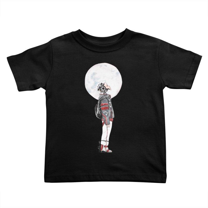 Descender 1 Kids Toddler T-Shirt by Dustin Nguyen's Artist Shop