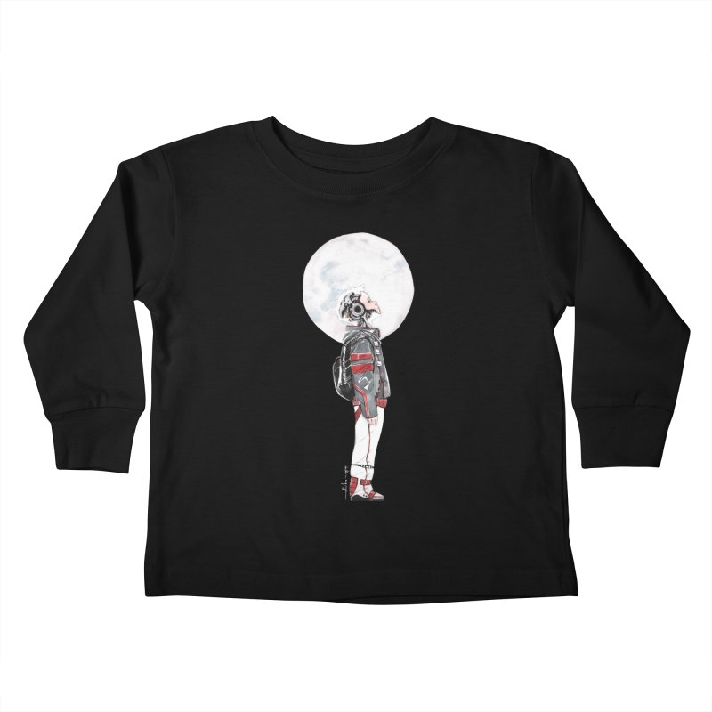 Descender 1 Kids Toddler Longsleeve T-Shirt by Dustin Nguyen's Artist Shop
