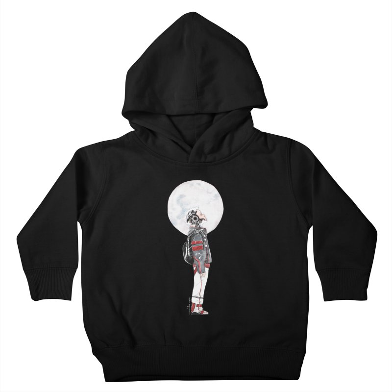 Descender Kids Toddler Pullover Hoody by Dustin Nguyen's Artist Shop