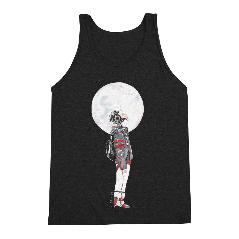 Descender Men's Triblend Tank by Dustin Nguyen's Artist Shop