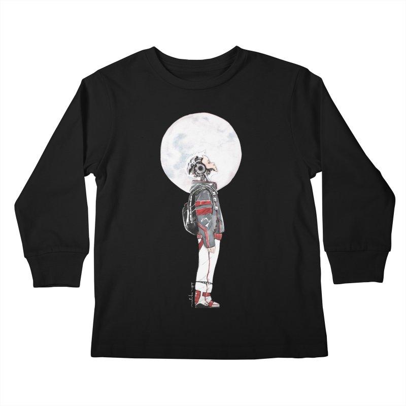 Descender Kids Longsleeve T-Shirt by Dustin Nguyen's Artist Shop