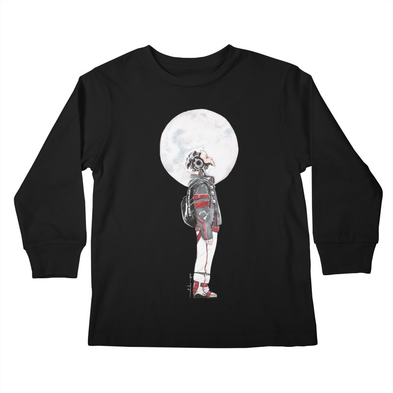 Descender 1 Kids Longsleeve T-Shirt by Dustin Nguyen's Artist Shop