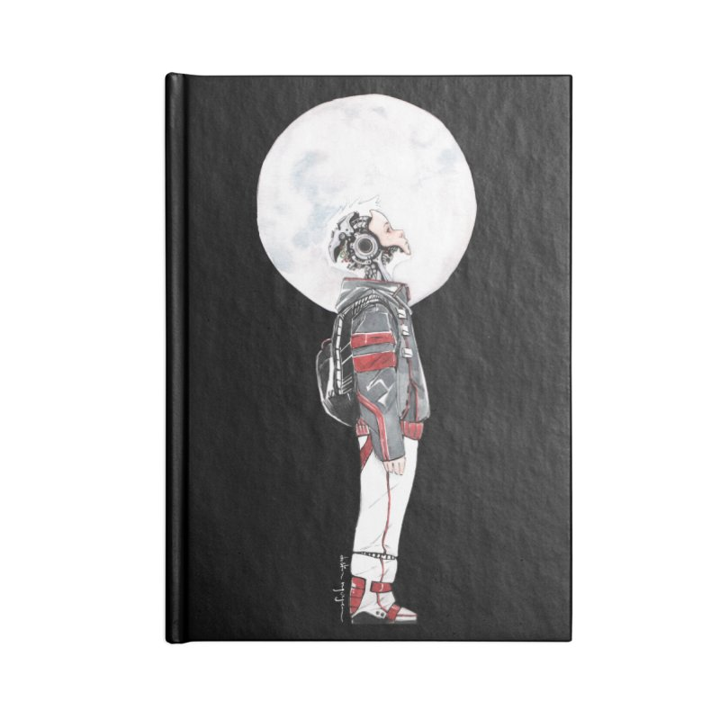 Descender Accessories Blank Journal Notebook by Dustin Nguyen's Artist Shop