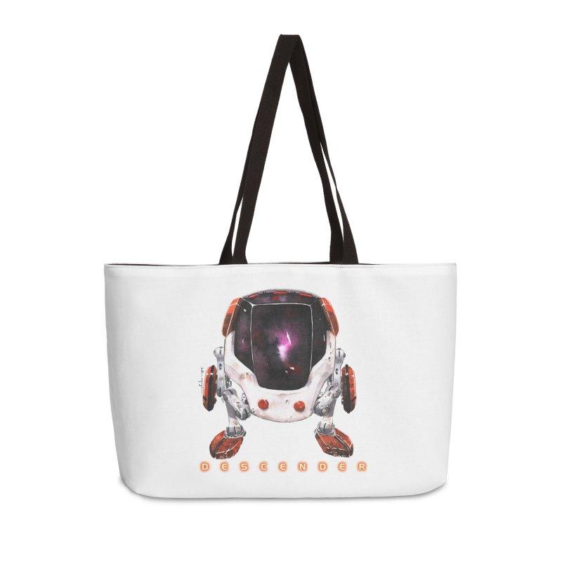 Bandit Accessories Weekender Bag Bag by Dustin Nguyen's Artist Shop