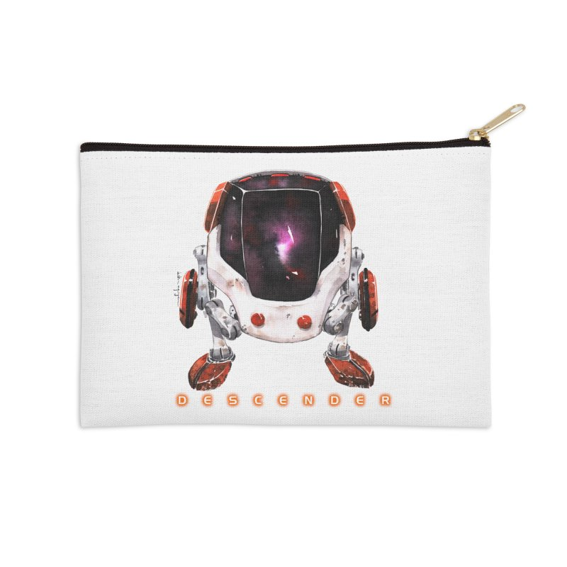 Bandit Accessories Zip Pouch by Dustin Nguyen's Artist Shop