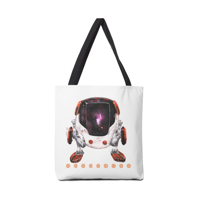 Bandit Accessories Tote Bag Bag by Dustin Nguyen's Artist Shop