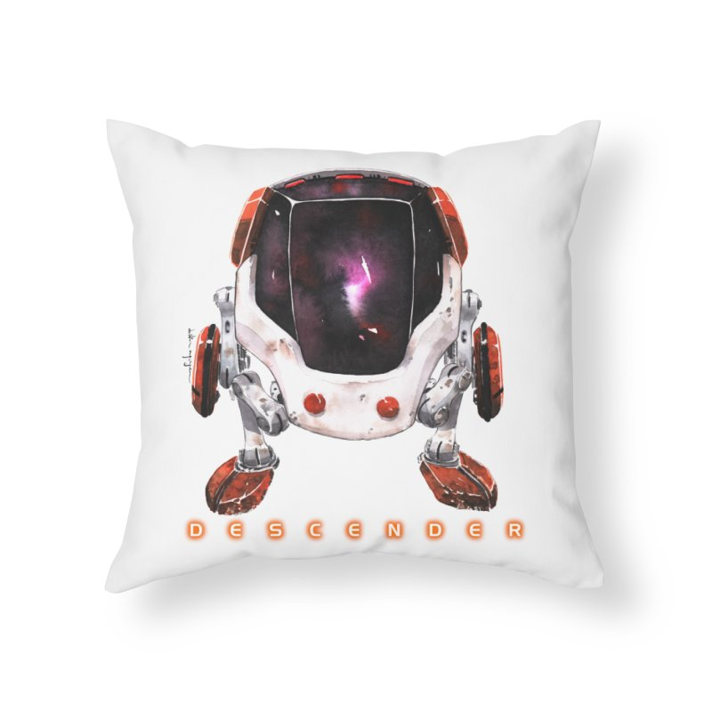Bandit Home Throw Pillow by Dustin Nguyen's Artist Shop